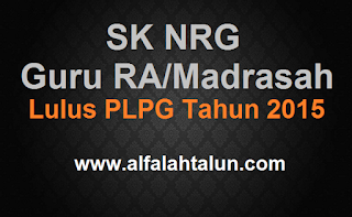 Download NRG Lulus PLPG Tahun 2015