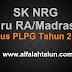 Download NRG Bagi Guru RA dan Madrasah Sertifikasi yang Lulus PLPG Tahun 2015