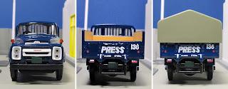 tlv  Nissan 680 Newspaper Transport Truck Asahi Newspaper