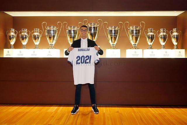"""Cristiano Ronaldo: """"Éste es mi penúltimo contrato"""""""