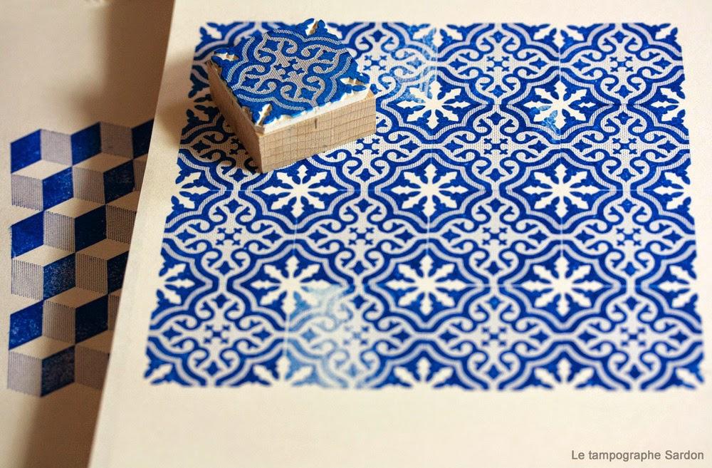 atelier rue verte le blog coup de coeur le tampographe carreaux d 39 encre. Black Bedroom Furniture Sets. Home Design Ideas