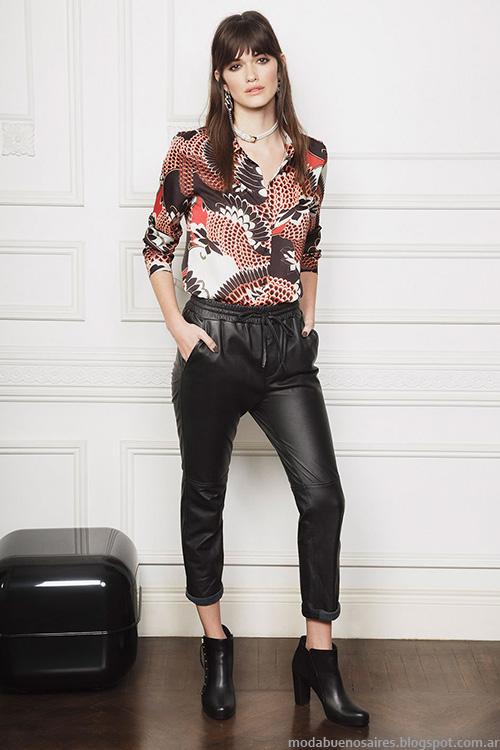 Pantalones invierno 2016 moda Ayres otoño invierno 2016 ropa de mujer.