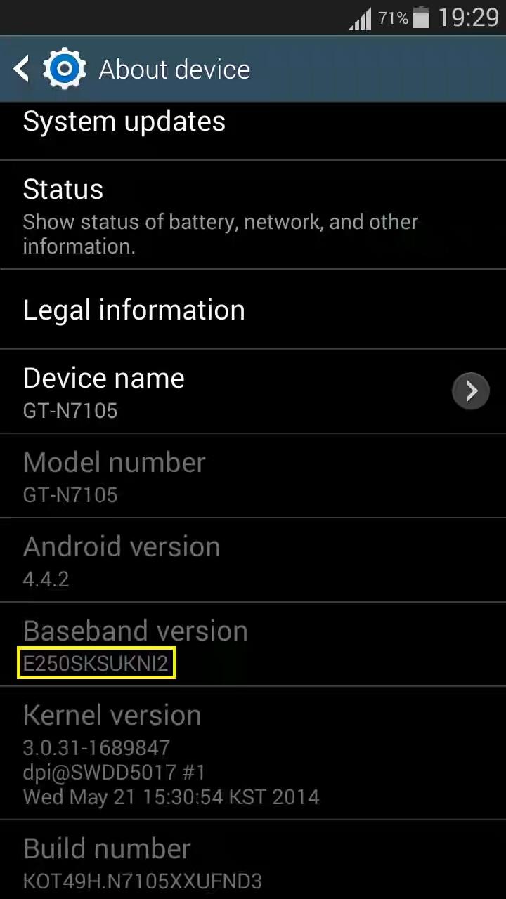 Samsung Note 2 Lte SHV-E250SKL GT-N7105 4 4 2 S6 Style Jumbo