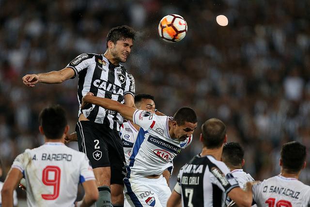 f72656f74d Botafogo derrota Nacional do Paraguai e passa às oitavas de final -  Fluminense bate Defensor e também avança - Colón elimina São Paulo