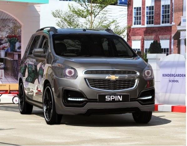 Modifikasi Mobil Chevrolet Spin Terbaru