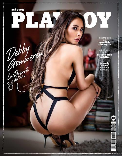 Debby Gommeren Playboy México Diciembre 2019 [FOTOS+PDF]