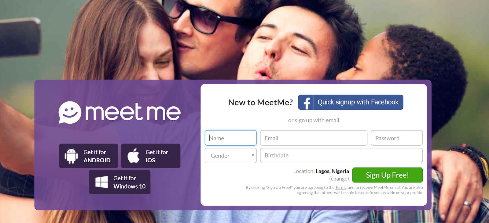 Create Meetme Account Here Online