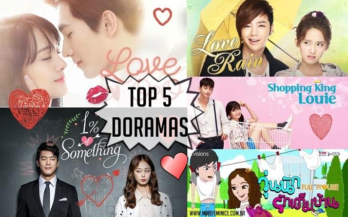 Top 5 doramas românticos