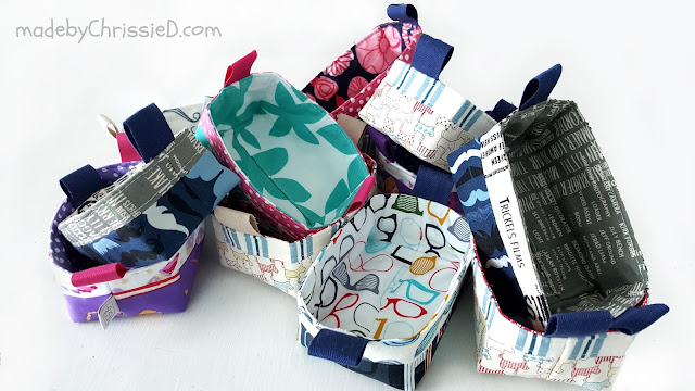 Pixie Baskets by www.madebyChrissieD.com