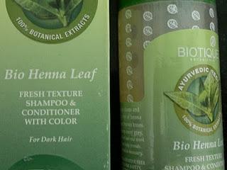 Biotique Fresh Texture Shampoo Conditioner With Color Bio Henna