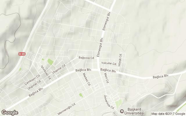 bağlıca harita
