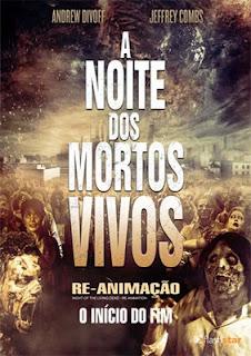 baixar capa A Noite dos Mortos Vivos Re Animação   DVDRip AVI Dual Áudio + RMVB Dublado