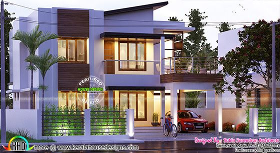 3 BHK 2374 square feet modern house