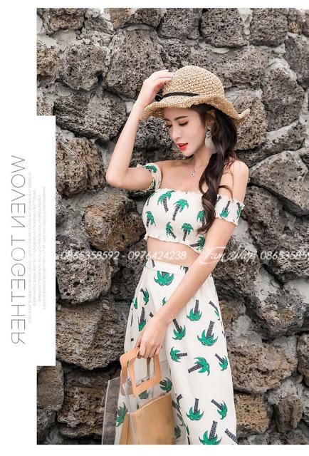 Shop ban vay maxi di bien o Thanh Xuan Trung