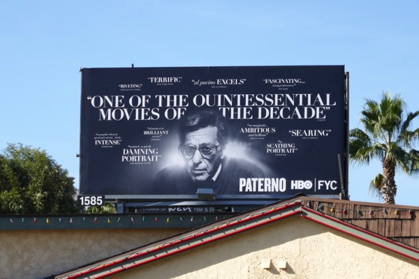 Paterno HBO FYC billboard