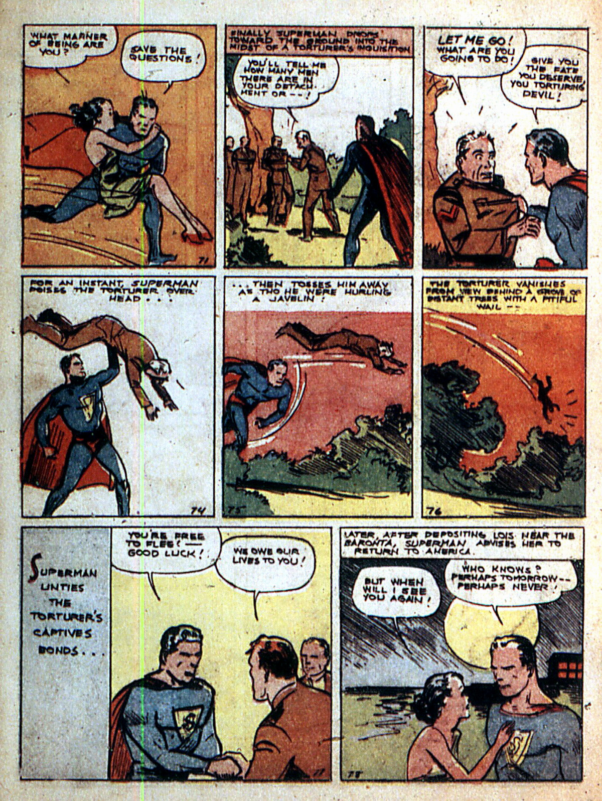 Read online Action Comics (1938) comic -  Issue #2 - 12