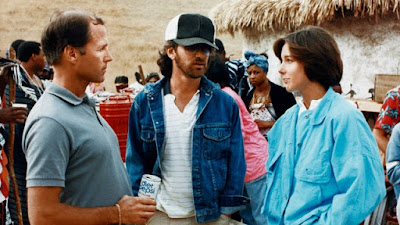 Frank Marshall, Steven Spielberg and Kathleen Kennedy