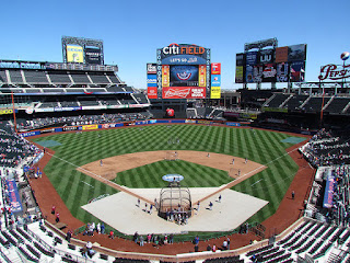 Home to center. Citi Field
