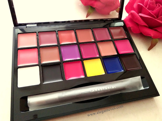 Anastasia Beverly Hills Lip Palette Vol.1 review india
