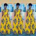 Creative Ankara Gown Design