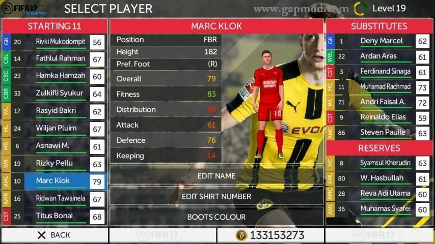 download data fifa 17 ultimate mod