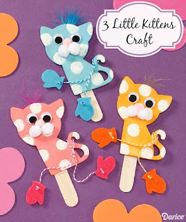 http://blog.darice.com/basics/3-little-kittens-craft/