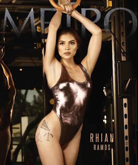Jessy Mendiola and Rhian Ramos Metro April 2018 Cover Girls