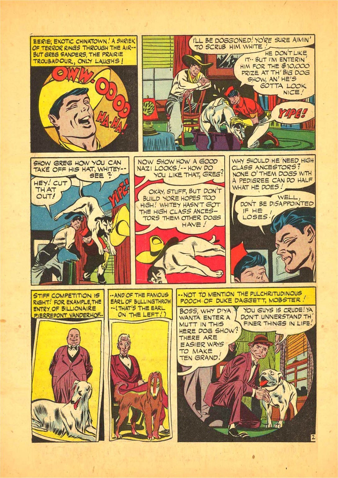 Read online Action Comics (1938) comic -  Issue #68 - 17
