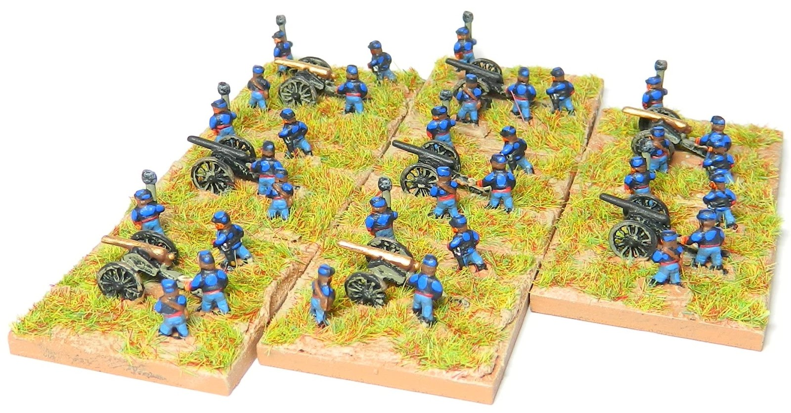 MacPhee's Miniature Men: 6mm ACW Artillery