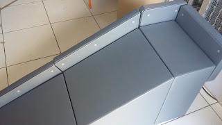 rampa com guard rail