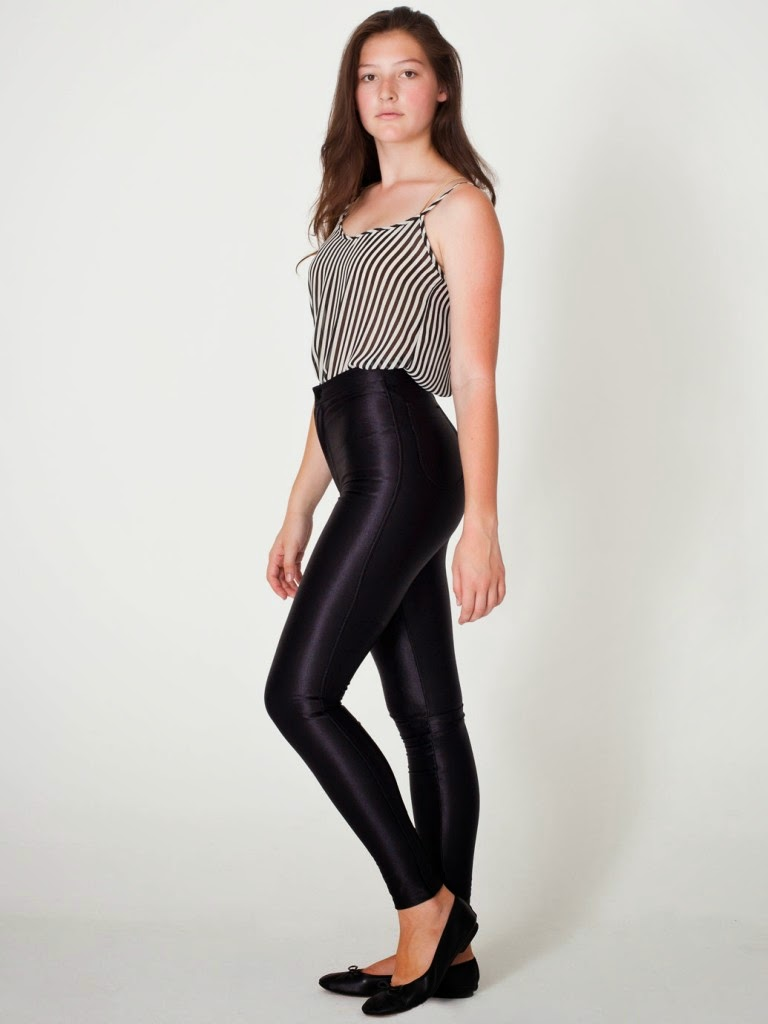 Fabulous Shiny Spandex Leggings For Girls  Fashionate Trends-8872