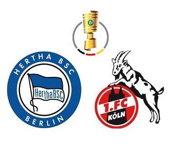 Hertha Berlin vs Cologne highlights | DFB Pokal