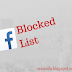 How to view those I blocked on Facebook