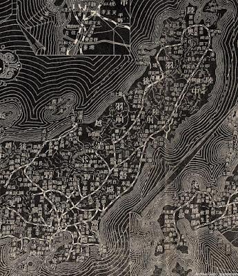 06 明治38年(1905) 大日本汽車線路略図 東北・関東