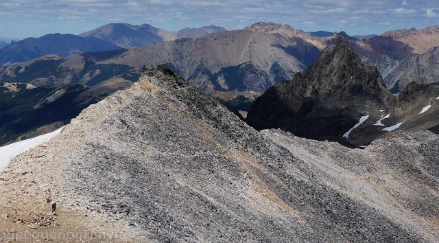 Andes, bariloche, cordon Lopez, trekking,