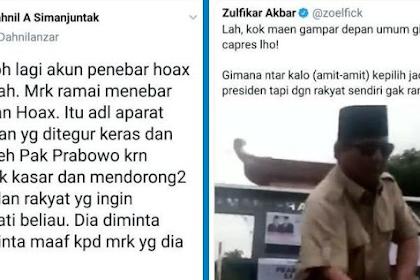 Dahnil Anzar Bantah Hoax dan Fitnah Video Prabowo Oleh Pendukung 01