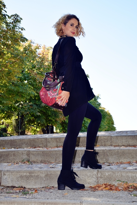 Outfit-bluson-negro-flores-4