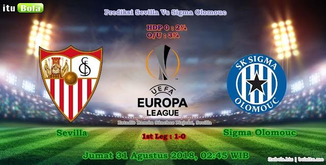 Prediksi Sevilla Vs Sigma Olomouc - ituBola