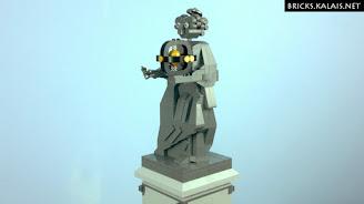[MOC] Pomnik Kopernika z klocków LEGO