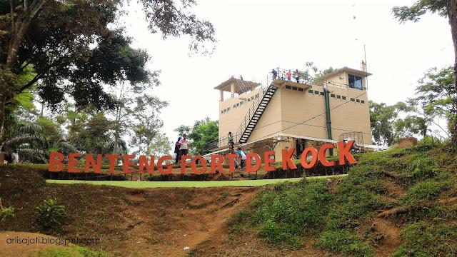 Wisata Benteng Fort de Kock di Bukit Tinggi