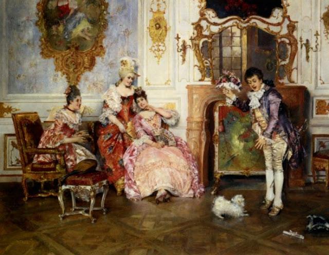 Leopoldo Schmutzler 1864-1941 | Bohemia Art Déco pintor