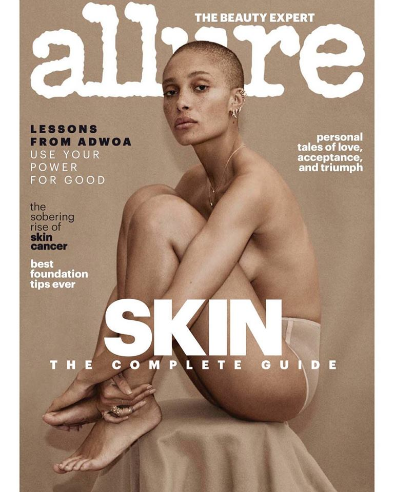 Adwoa Aboah for Allure US April 2018