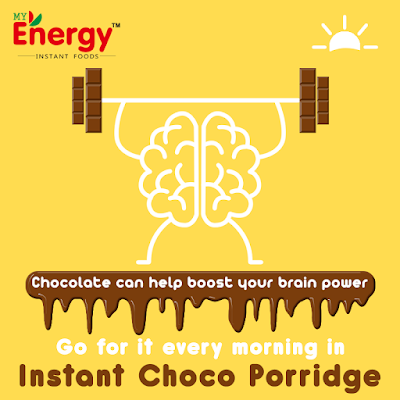 My Energy Choco Porridge Ad