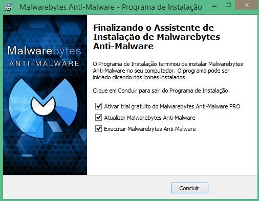 MalwareBytes segunda alternativa para busca de vírus