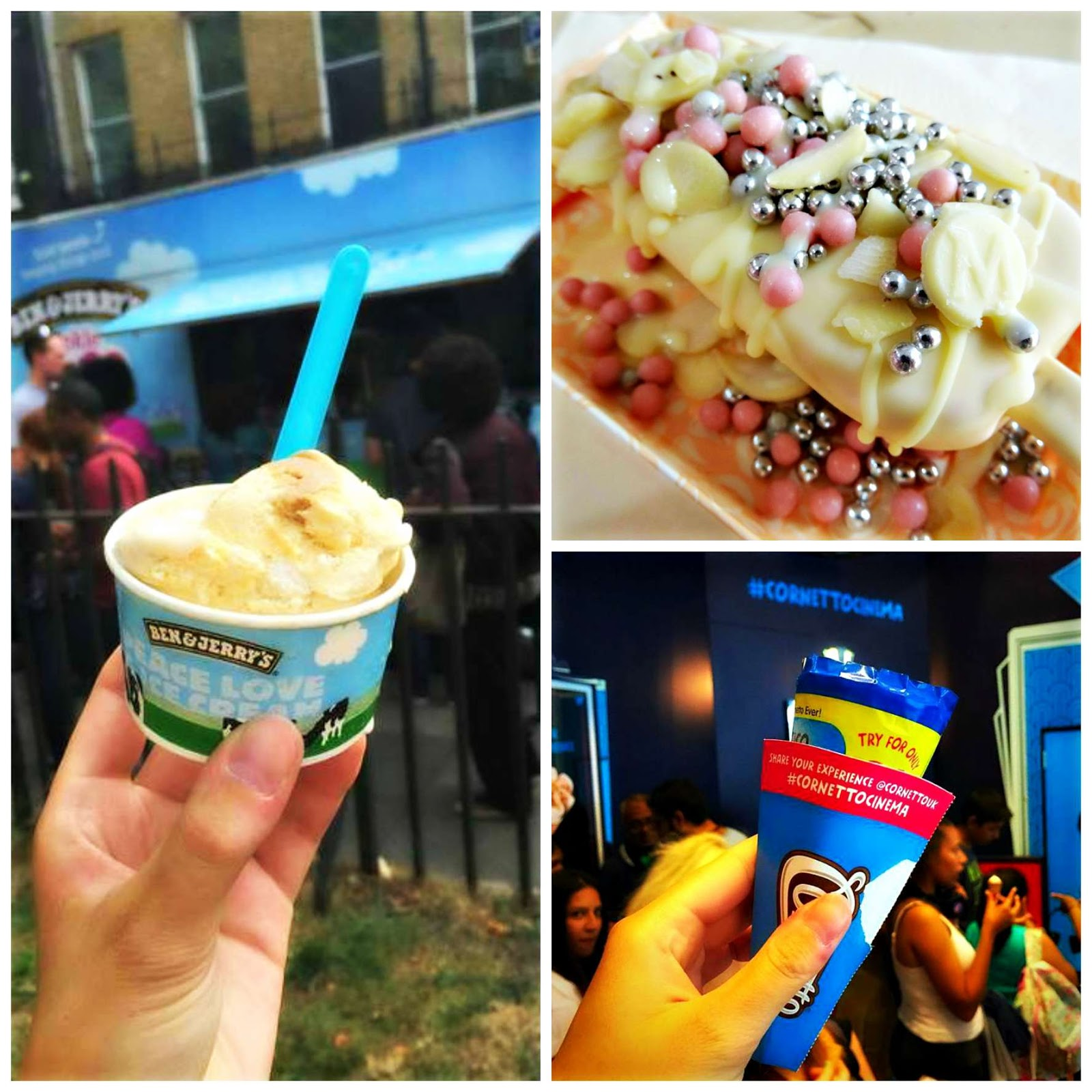 ice cream places in london