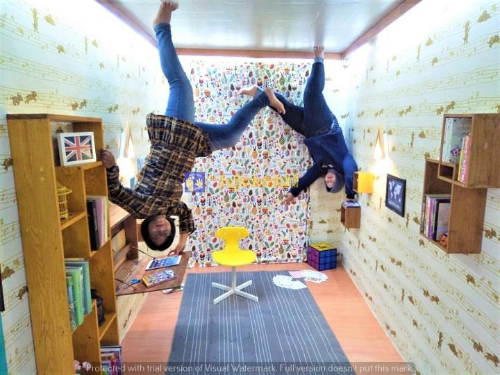 Rasakan Dunia Terbalik di Upside Down World Bandung