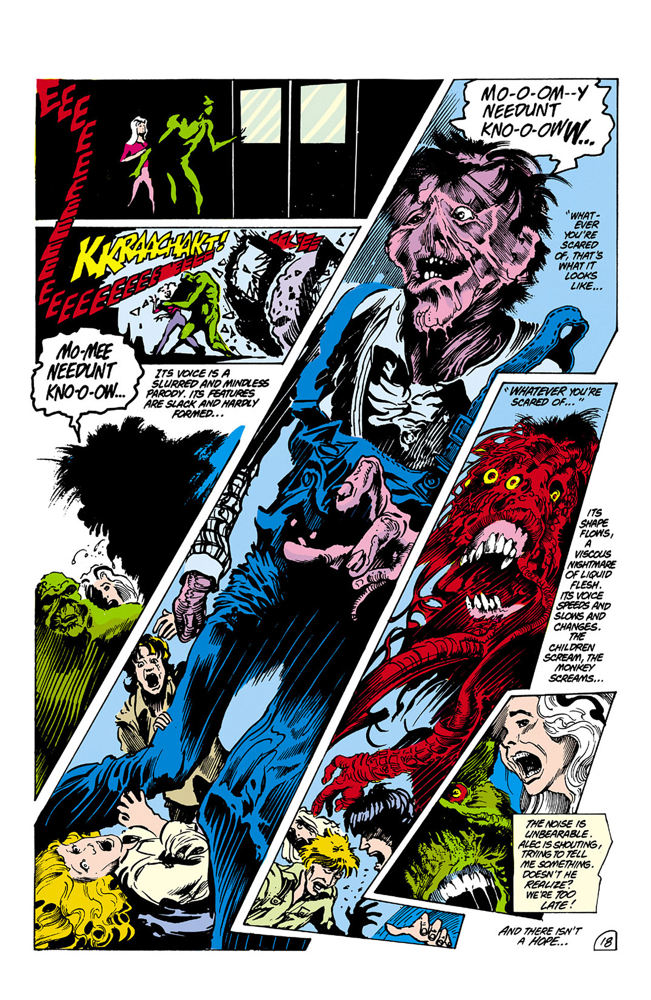 Swamp Thing (1982) Issue #26 #34 - English 18