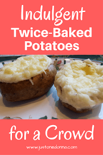 Indulgent Twice Baked Potatoes