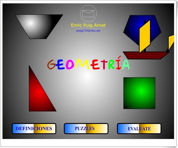 """""""Geometría"""" (Matemáticas de Educación Primaria)"""