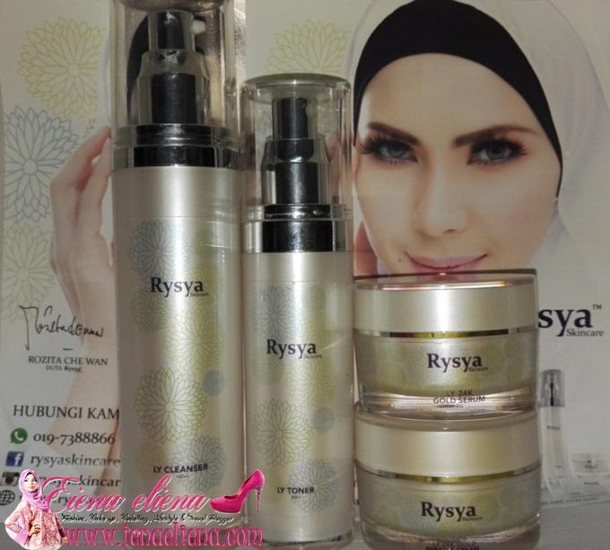 Empat langkah mudah Rysya Skincare